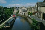 Leeds and Liverpool Canal: Skipton Junction Springs Branch from junction - July 1994.