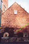 The side of Brindley's Corn Mill at Leek - Dec 2001.