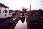 The Trent and Mersey Canal at Stone - Dec 2001.